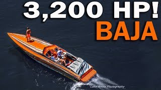 Worlds Fastest Baja boat PART 3:  We get pulled over! (BFD Poker Run)