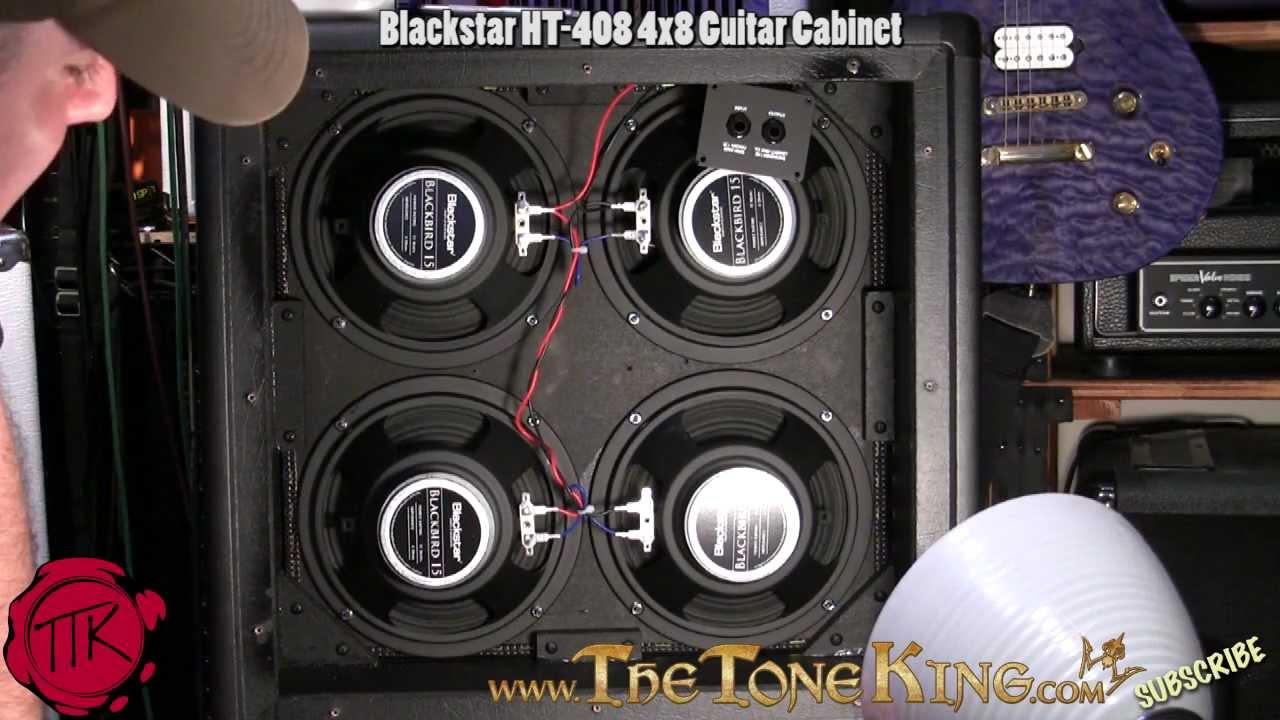 Blackstar 4x8 HT408 Guitar Cabinet Demo  Review  YouTube