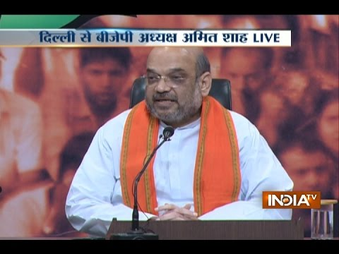 Amit Shah Slams Rahul Gandhi for 'Khoon Ki Dalaali' Remark on PM Modi