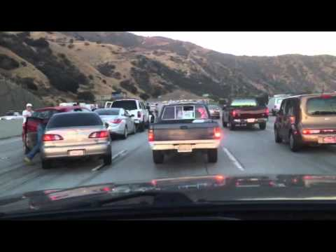 Traffic Accident 91 Freeway