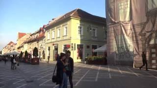 Romania: Walking in Brasov ルーマニア:ブラショフを歩く