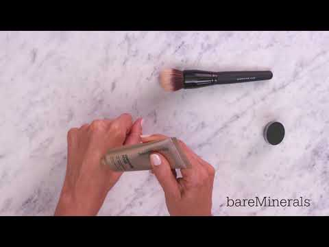 How To Use The Smoothing Face Foundation Brush By Bareminerals