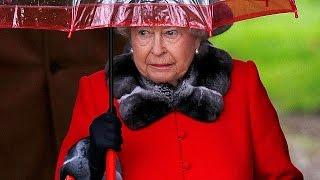 Enrhumée, la Reine Elisabeth II manque la messe de Noël