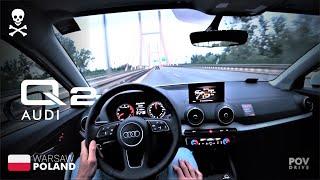 [4K] SUV audi Q2 35 tfsi 2020 POV test drive /// povdrive