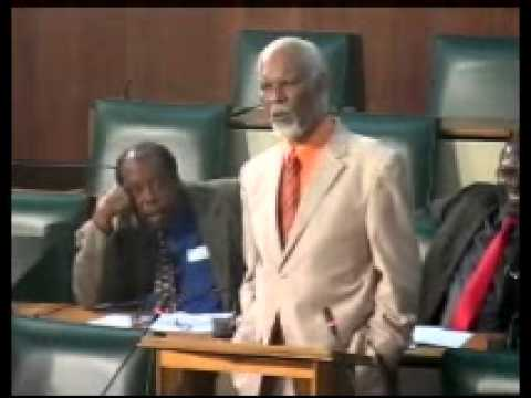 SEN. KD KNIGHT on NHT Act in the Senate Debate