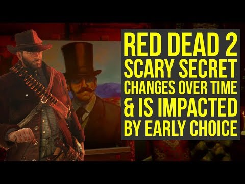 Red Dead Redemption 2 INSANE SECRET Changes Over Time & Is Impacted By Early Choice (RDR2 Secrets)