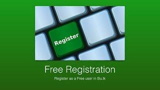 كيفية إنشاء حساب مجاني في بو.lk