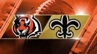 New Orleans Saints vs Cincinnati Bengals Week 10 highlights (11/11/18)