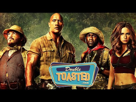 JUMANJI WELCOME TO THE JUNGLE MOVIE REVIEW – Double Toasted Review