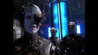 """Star Trek Voyager - Borg Activation Sequence """"Living Witness"""""""
