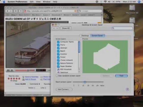 Kernel Panic Screensaver!