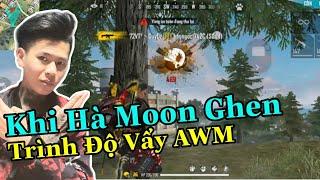 (FREEFIRE) Khi Hà Moon Ghen Vì Lầy Tặng Kc Cho Gái , Khi Lầy Thể Hiện AWM Headshot.