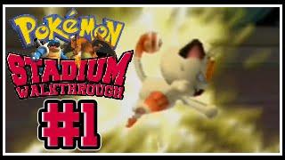 Pokemon Stadium: Detailed Walkthrough #001 - Petit But Deadly!