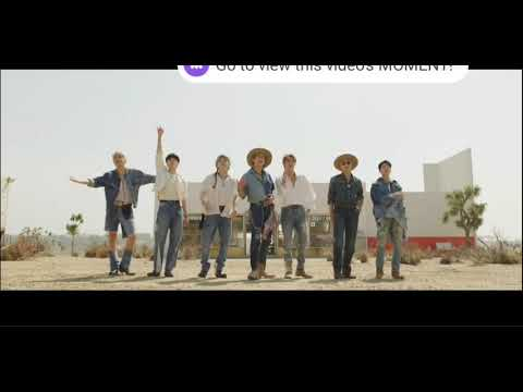 BTS permission to dance official trailor