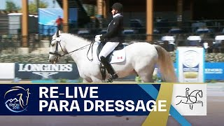 RE-LIVE Para-Dressage – Grade I Team | FEI World Equestrian Games 2018