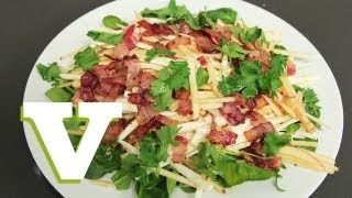 Bacon, Apple & Celeriac Salad: The Tasty Tenner S01e3/8