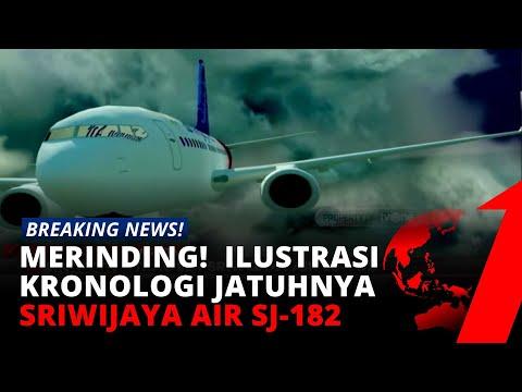 Merinding! Beginilah Ilustrasi Kronologi Tragedi Sriwijaya Air SJ-182 | tvOne