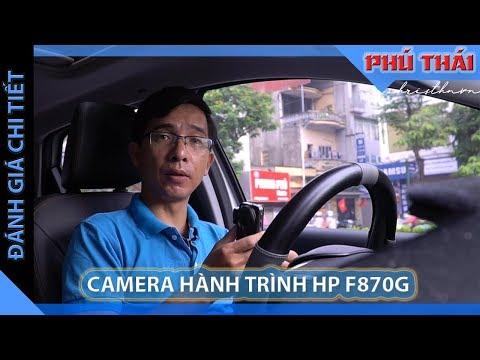 Đánh giá chi tiết Camera hành trình HP F870G w/rc2
