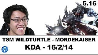 TSM Wildturtle - Mordekaiser vs Graves - Kr Duo Lustboy