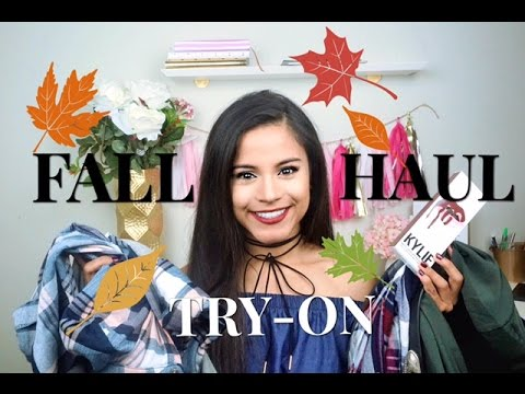 FALL TRY ON HAUL 2016 | Nordstrom, Forever 21 & More