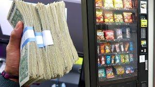 Esto ganan las máquinas de dulces