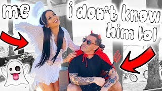 DOING HALLOWEEN COUPLES COSTUMES WITH STRANGERS!