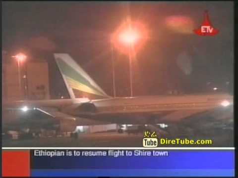 Ethiopian is to resume flight to Shire town