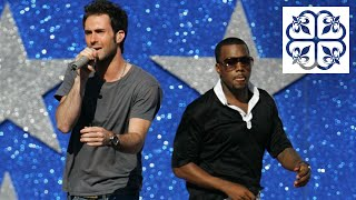 ADAM LEVINE ➥ Working w/ KANYE WEST