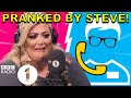 """Curl one out!"": Gemma Collins PRANKED by Superfan Steve"