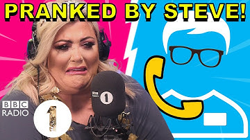 """""""Curl one out!"""": Gemma Collins PRANKED by Superfan Steve"""