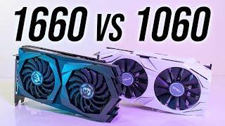 Nvidia GTX 1660 vs 1060 6GB - 16 Games Compared!