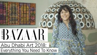 Everything You Need To Know About Abu Dhabi Art 2018   Harper