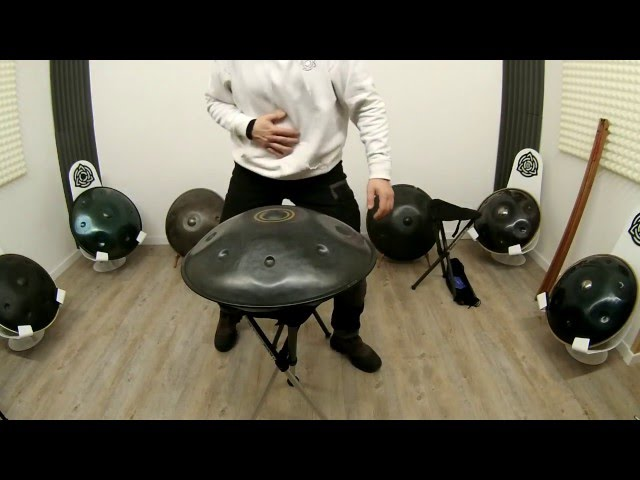 Walkstool Comfort 65 Handpan Stand + Walkstool Basic 50M & 60L