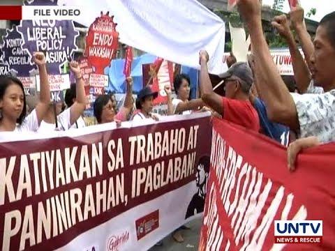 Malawakang kilos protesta, inihahanda ng mga labor groups sa May 1