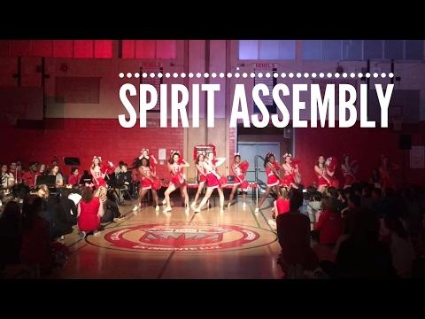 ECI Cheerleaders - February 2017 Spirit Assembly
