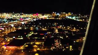 Landing in Las Vegas on Southwest Airline