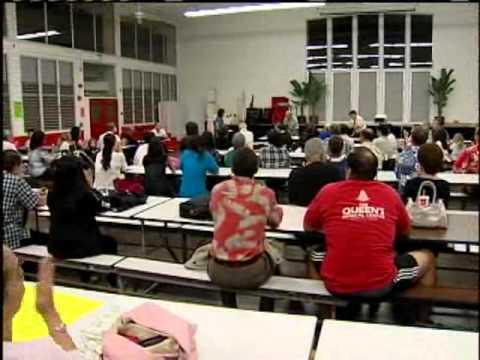 Parents Protest Closing Of Queen Liliuokalani School