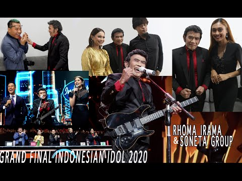 RHOMA IRAMA & SONETA GROUP: GRAND FINAL INDONESIAN IDOL 2020