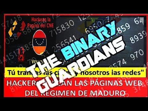 'hackers' ataca las web oficiales venezolanas y pide protestar contra Maduro