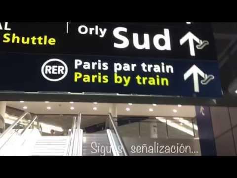 Cómo llegar del aeropuerto Orly a Paris?
