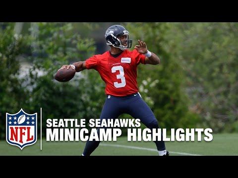 Seattle Seahawks 2016 Minicamp Highlights | NFL