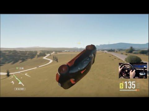 Forza Horizon 2 LP Ep38 150k Subs!! Bugatti Life! w/Thrustmaster Wheel Cam | SLAPTrain