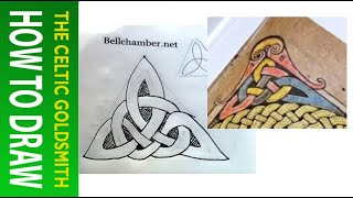 How to Draw Celtic Knots 3 - Durham Triskele