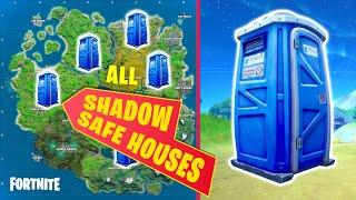 All Shadow Safe House Entrances Fortnite Season 2 Youtube