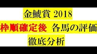 金鯱賞2018【枠順確定後】各馬の評価