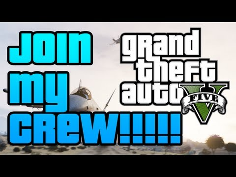 GTA V - How To Join JV2017s Most Wanted Crew for GTA Online!!! [UPDATED VERSION]