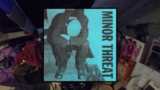 Minor Threat Straight Edge Drum Cover