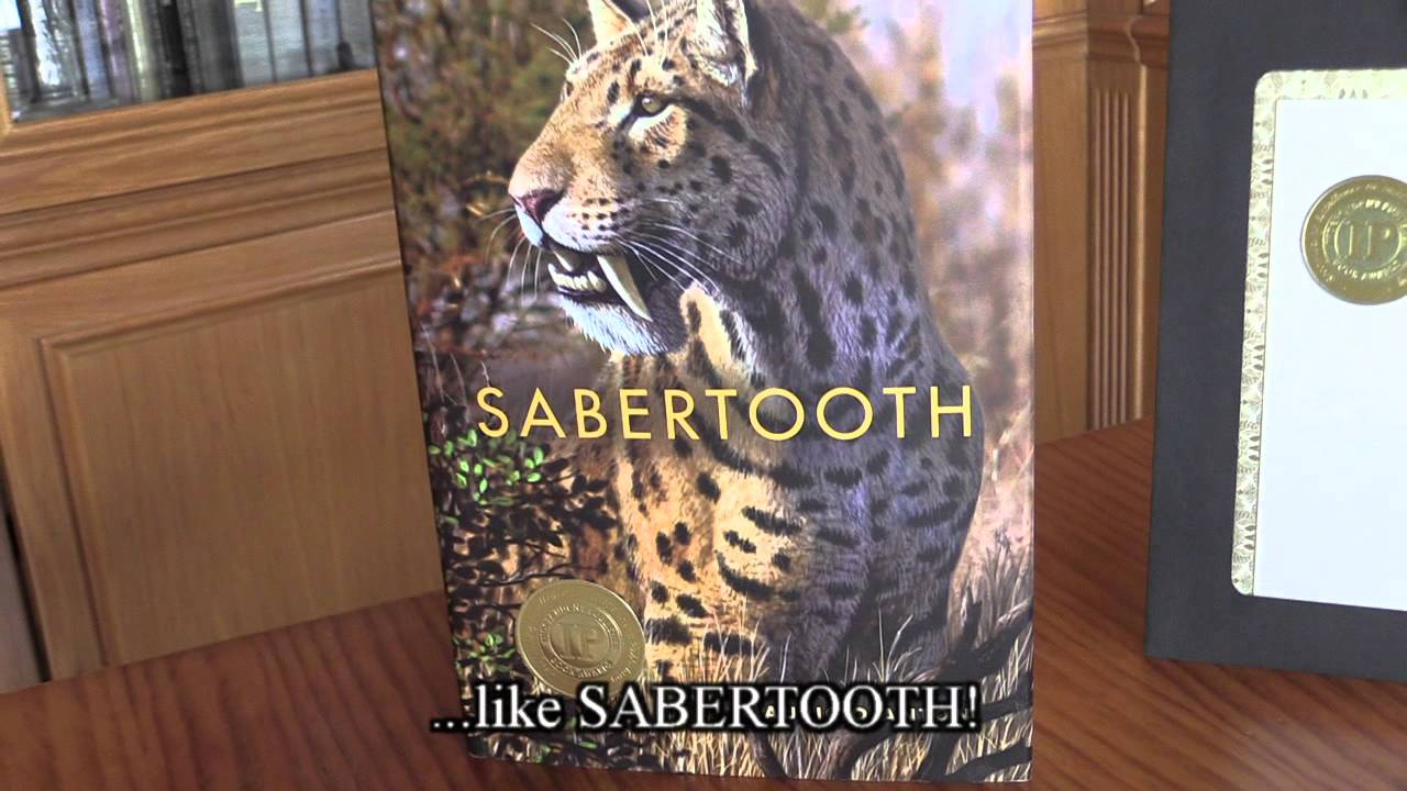 Sabertooth book sketches and IP gold medal - YouTube