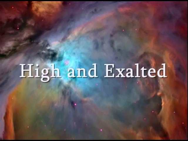 High and Exalted Darwin Hobbs & Natalie Grant Lyrics