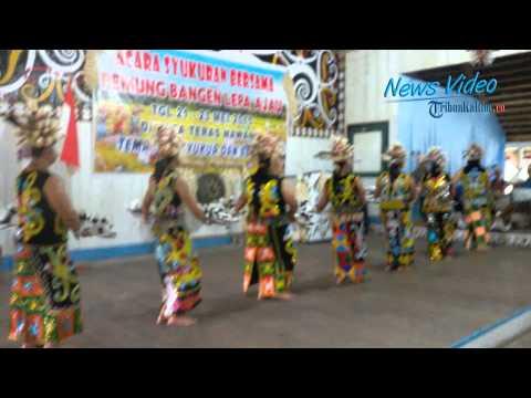 VIDEO Inilah Syukuran Panen Dayak Kenyah di Kalimantan Utara